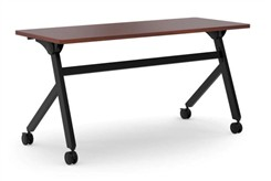 "HON 60""W Flip Top Training Table"