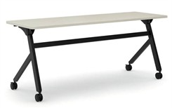 "HON 72""W Flip Top Training Table"