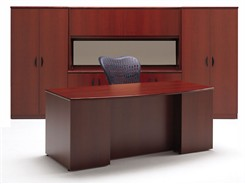 Transitions Custom Office Desks - Transitions Custom Executive Desk Package