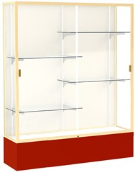 5'W Spirit Trophy Locking Display Case