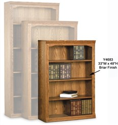 Traditional Real Oak Bookcases