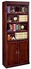 Two Door Cherry Bookcase