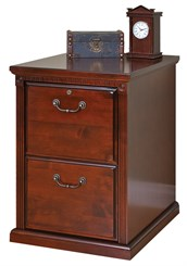 Cherry Two Drawer Vertical File