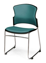 Value Stack Chair w/ Vinyl Seat & Back