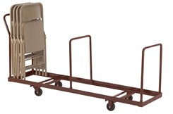 Vertical Folding Chair Dolly - 35 Chair Capacity
