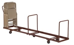 Vertical Folding Chair Dolly - 50 Chair Capacity