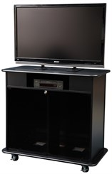 Video Conference Cabinet with DVD/VCR Shelf