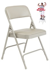 Vinyl Padded Steel Folding Chair