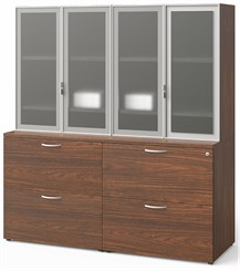 Contrasts 5'W Wall Storage Unit