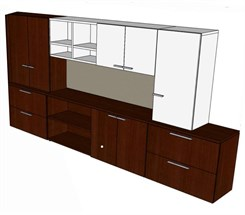 Custom 12' Wall Unit
