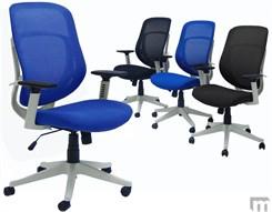 White Frame Ergonomic Mesh Chair