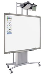 iTeach� Interactive Whiteboard Stand w/ Ultra Short Projector Arm