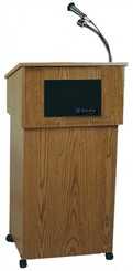 Wireless Premium Power Table Top Lectern