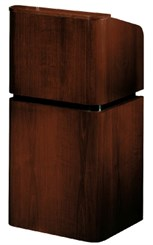 Wood Veneer Floor Lectern