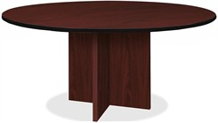 "X-Base Conference Tables Up To 60"" Diameter"