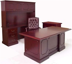 Traditional Dark Cherry 4-Piece Office Set at an Additional Savings!