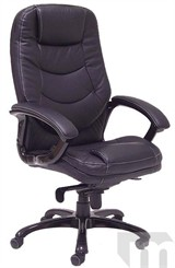 Aspira Leather Synchro Tilt Office Chair