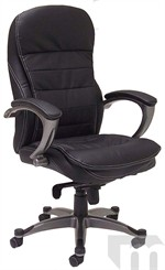 Leather Knee-Tilt Office Chair
