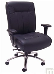 Leather Big & Tall Ergonomic Chair-400 lbs. Capacity!