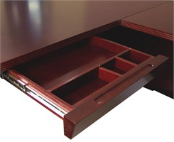 Mahogany Center Drawer