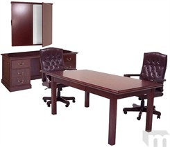 Dark Cherry 6' Meeting Table