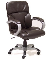 Leather Pillow Cushion Office Chair