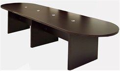 12' Mocha Laminate Conference Table