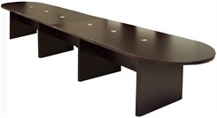 16' Mocha Laminate Conference Table