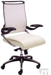 Leather & Mesh Executive Chair