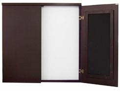 Mocha Presentation Cabinet
