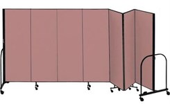 "6' High x 13'1"" Long Portable Partition"