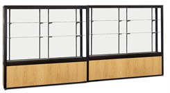 "144"" Wide Platform Display Case"