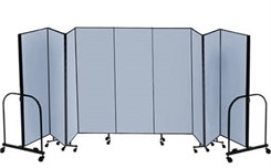 "6' High x 16'9"" Long Portable Partition"