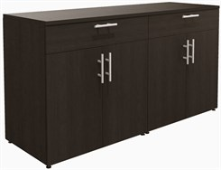 "72""W Custom 4-Door Buffet Cabinet"