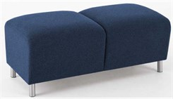 Ravenna 2 Seat Bench in Standard Fabric or Vinyl