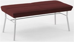Mystic 2 Seat Bench in Standard Fabric or Vinyl