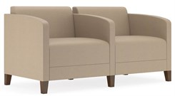 Fremont 500 lbs 2-Seater w/Center Arm in Standard Fabric or Vinyl