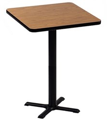 "24"" Square Bar Stool Height Table"