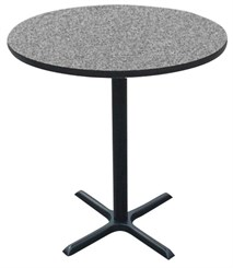 "30"" Round Bar Stool Height Table"