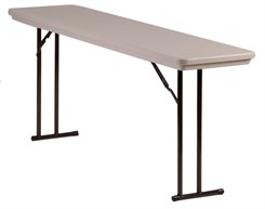 "30"" x 96"" Resin Folding Table"