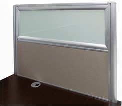 "36""W x 24""H Desk Mounted Privacy Panel"