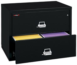 "38""W 2-Drawer FireKing Fireproof Lateral File"