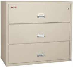 "38""W 3-Drawer FireKing Fireproof Lateral File"