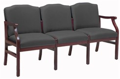 Bristol 3-Seat Sofa in Upgrade Fabric or Healthcare Vinyl
