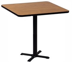 "42"" Square Bar Stool Height Table"