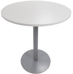 "42"" Round x 41""H Metal Disc Base Cafe/Bar Height Table"