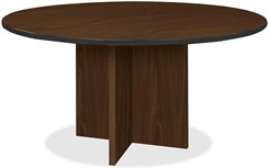 "48"" Round X-Base Custom Conference Table"