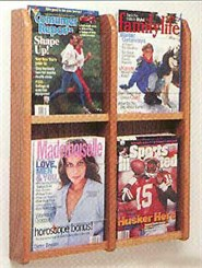 4 Magazine Pocket Rack