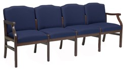Bristol 4-Seat Sofa in Standard Fabric or Vinyl