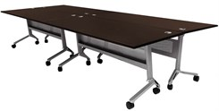 "56"" x 144"" Modular Flip & Stow Conference Table"